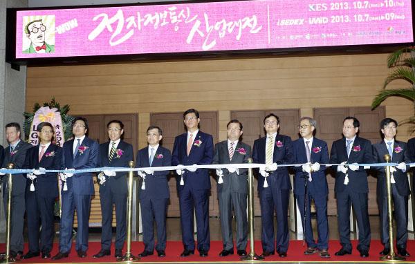 삼성-LG 각축장 된 '2013 한국전자전'