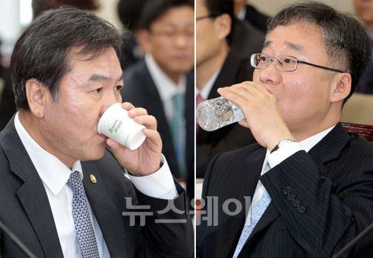 [NW포토]정무위 국감, 속타는 금융위원회