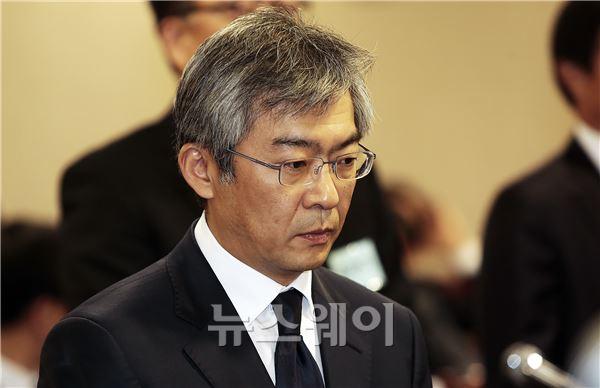정무위 국감, 증인으로 출석한 이승국 전 동양증권 사장