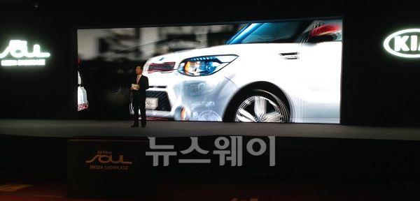 """이삼웅 기아차 사장 """"올 뉴 쏘울 '아이코닉 브랜드'로 자리매김할 것"""""""