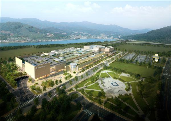 신세계그룹, 국내 최초 '교외형 복합쇼핑몰' 첫삽