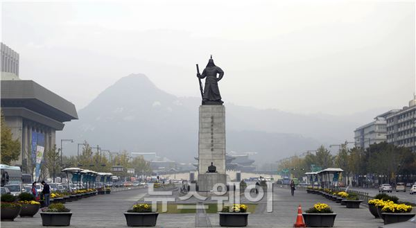 안개 낀 서울