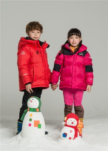 아이더, 아동용 다운 재킷 '범블비2' 출시