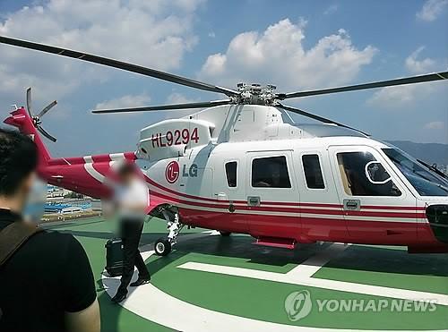 자가용 헬기 애용하는 대기업 경영진…'시간=돈'