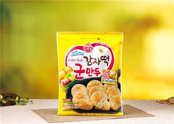 오뚜기, '오뚜기 감자떡 군만두' 출시