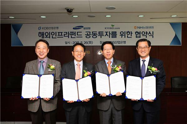 산업銀, 국내 최초 5억달러 해외인프라 모태펀드 설립