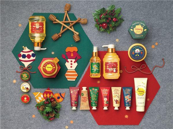 스킨푸드, '메리 크리스마스 마이 허니' 라인 출시