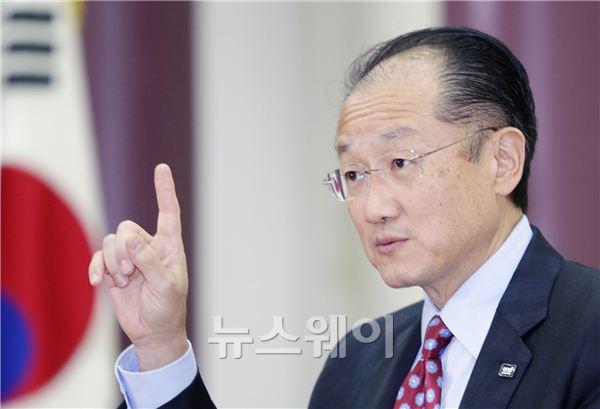 김용 세계은행 총재, '아프리카 새시대 포럼' 대담회