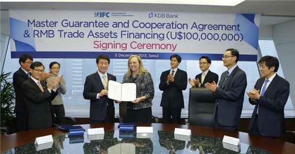 産銀, 세계은행그룹 IFC와 개도국 무역금융시장 공동 진출