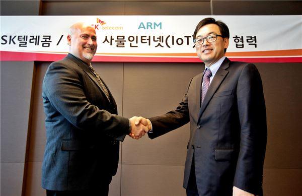 SKT-ARM, 사물 인터넷 활성화 협력방안 논의