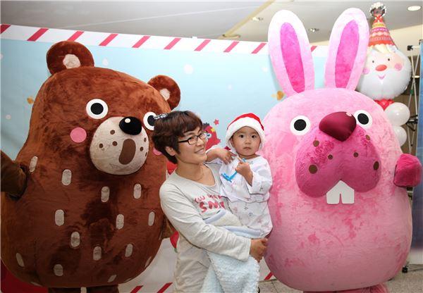 NHN엔터 '포코팡', 세브란스 어린이 병원서 자선 이벤트 개최