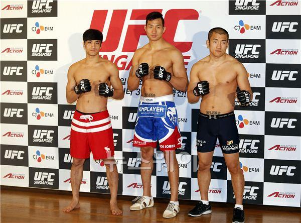 'UFC in SINGAPORE' 출전식