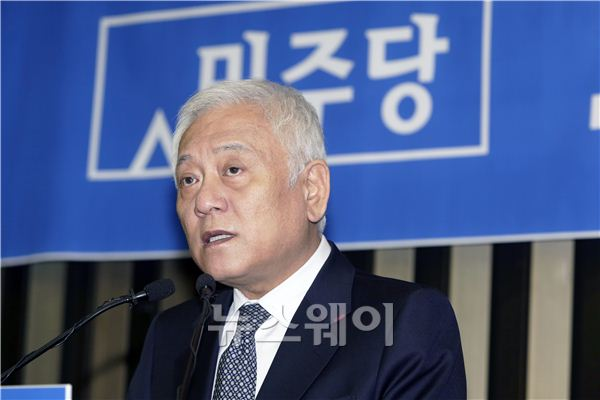 """김한길 """"야권 재구성 여부, 국민 뜻 따를 것"""""""