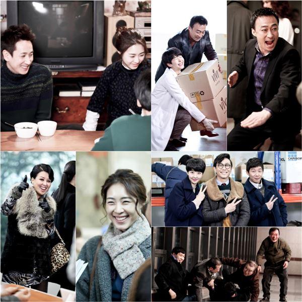 '미스코리아' 촬영현장 공개…'웃음만발'