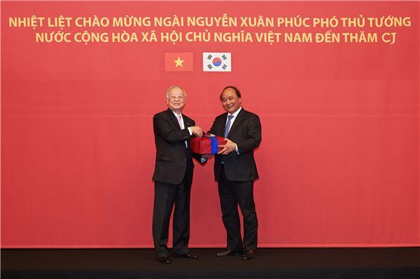 손경식 CJ 회장, 베트남서 '제3의 CJ건설' 위한 투자 의지 강조