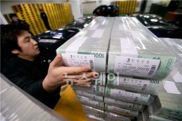 한국은행, 설 자금 방출
