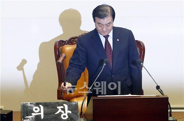 강창희 국회의장, 임시국회 개회