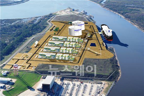 SK건설, 국내 최초 '해외 천연가스 액화플랜트' 건설