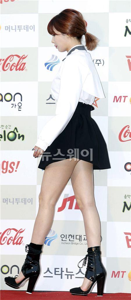 포미닛 현아, '마돈나도 울고 갈 섹시함'(가오나트 K-POP어워드)