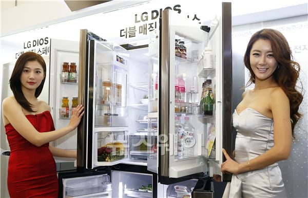 [NW포토]LG DIOS(디오스) 냉장고 신제품 출시