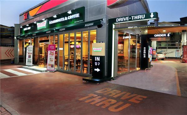 크리스피 크림 도넛, '드라이브 스루' 매장 오픈