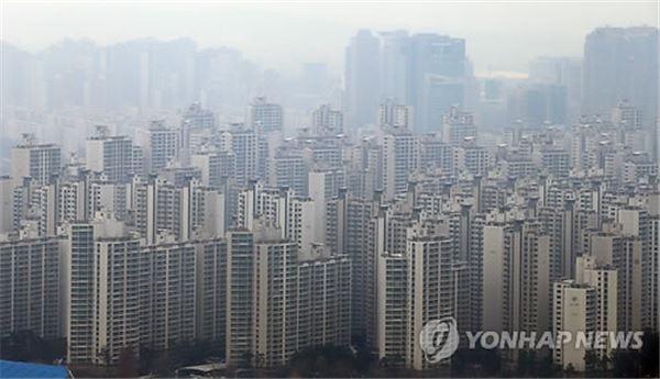 강남3구 전세가율 70% 이상 아파트 4.8배 증가