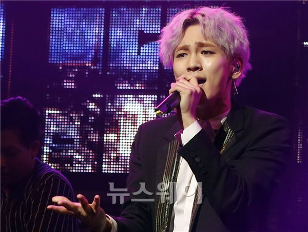 [NW포토]투하트 키(Key), '팬들 사로잡을 포즈'