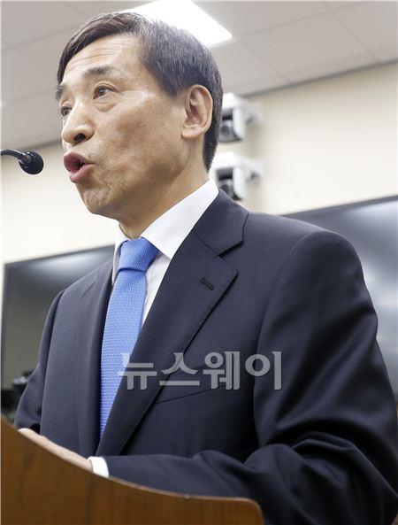 모두발언하는 이주열 한국은행 총재 후보자