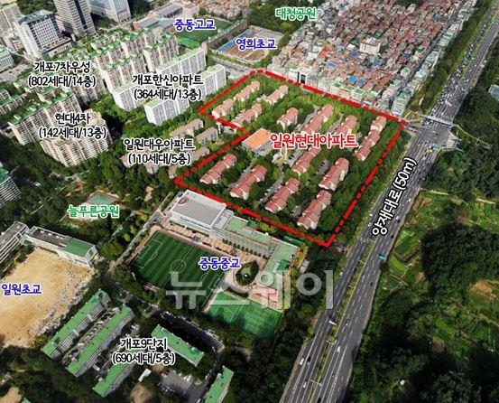 강남 일원현대아파트 재건축 속도 낸다