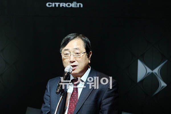 """송승철 한불모터스 대표 """"시트로엥 피카소 자신감 올해 1000대 판매할 것"""""""