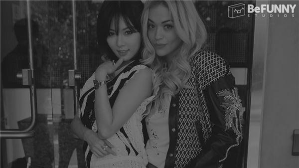 포미닛 현아, 리타오라와 함께 찍은 '퍼니 올 다이' 티저 이미지 공개