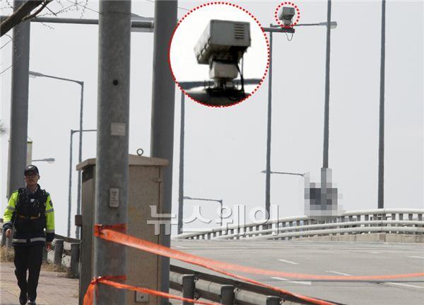 '어벤져스2' 촬영 현장, 마포대교 CCTV통해 일부 노출?