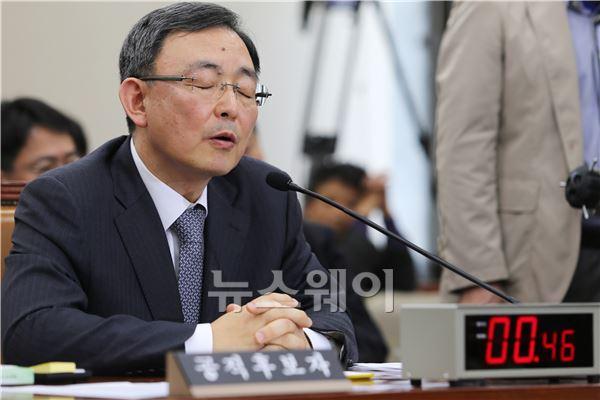 눈감고 생각하는 '최성준' 후보