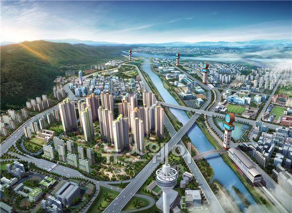 반도건설, 11일 '남양산역 반도유보라 5차' 견본주택 개관