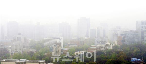 안개 서울