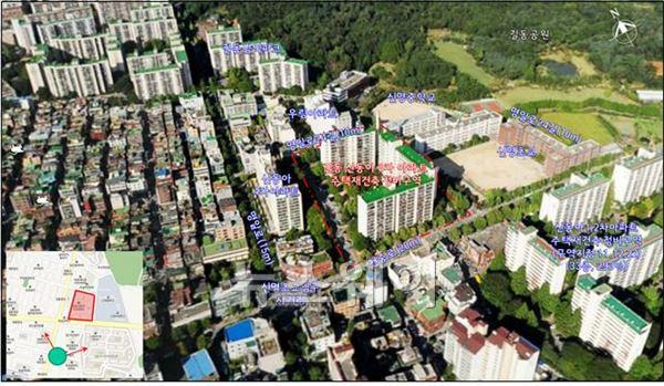 서울 길동 신동아3차, 21층 총 366가구 규모로 재건축