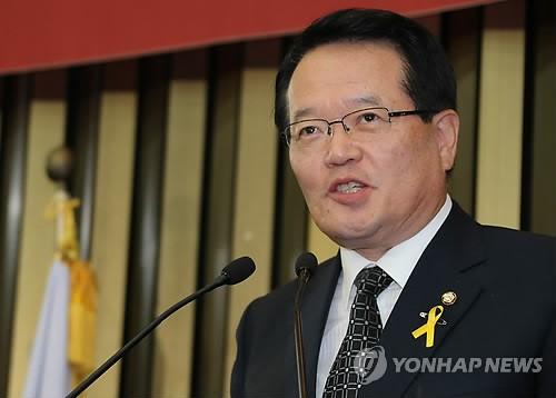 19대 국회 하반기 국회의장 5선 정의화 선출