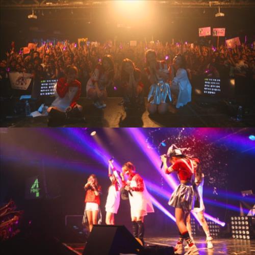 포미닛 유럽 첫 단독 콘서트 성황