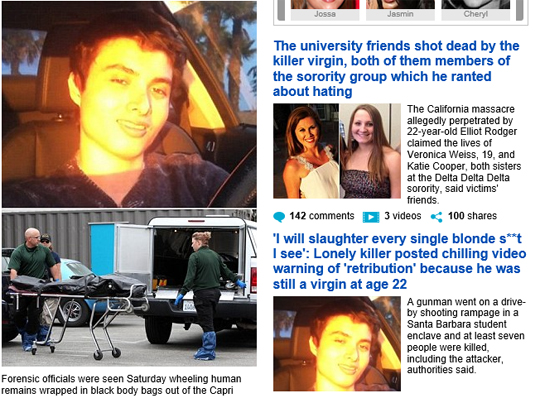 미국 총기난사 사건… 범인이 영화 '헝거게임' 조감독 아들