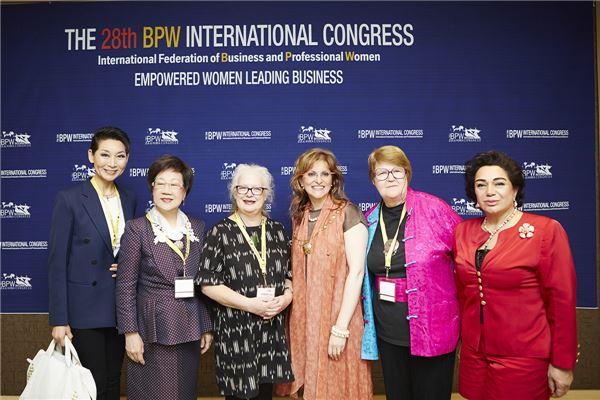 김성주 성주그룹 회장, BPW '여성 리더십상' 수상