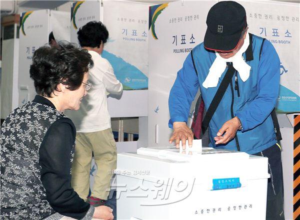 6·4지방선거, 투표하는 시민