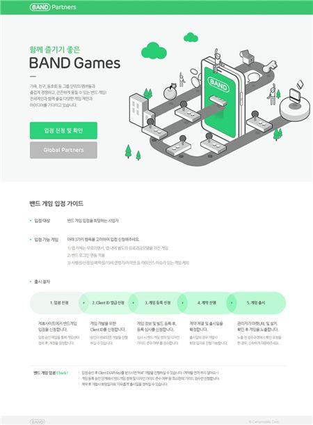 '밴드 게임', '오픈 플랫폼' 전환