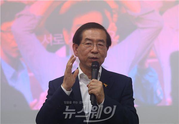 박원순 서울시장 연임 성공…개발계획 탄력받나