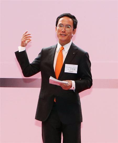 조현범 한국타이어 사장의 '오너 경영론'