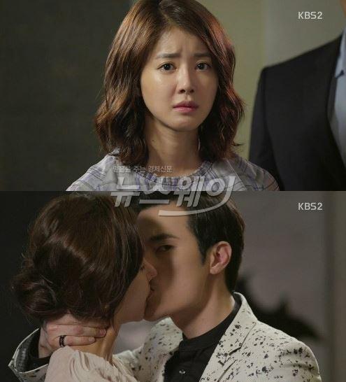 """[골든크로스] 김강우, 이시영 앞에서 한은정과 키스···""""저 여자 누구냐"""""""
