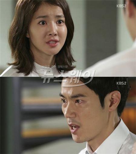 """[골든크로스] 김강우, 자신을 알아보는 이시영에 """"입닥치고 떠나라"""""""