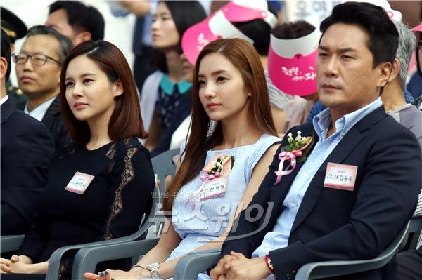 '세계 헌혈자의 날' 한채영-아이비-JK김동욱