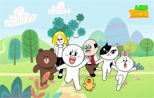 '라인 타운', 디즈니채널 통해 국내 방영 시작