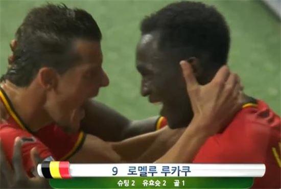 [브라질월드컵]벨기에, 미국과 연장 접전끝에 8강행