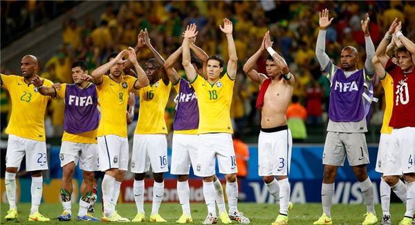 [브라질월드컵]브라질, 콜롬비아 꺾고 4강행···네이마르 '부상'